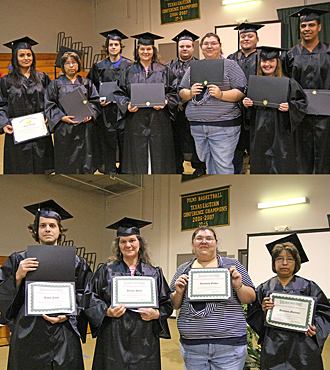GED ceremony photos