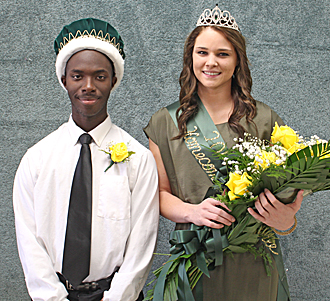 PJC 2013 Homecoming King & Queen photo
