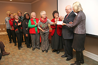 PRMC Auxiliary donation