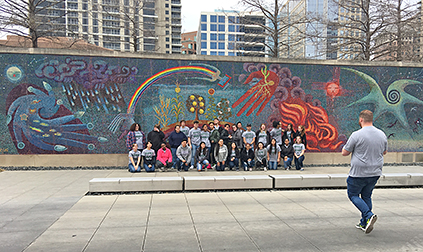 Upward Bound field trip