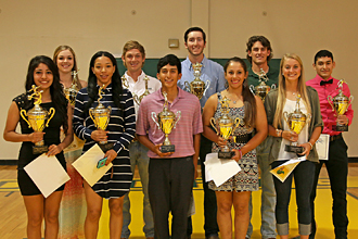 PJC 2015 athletic awards