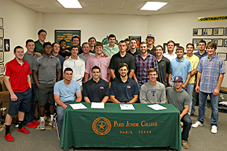 fall 2015 baseball signing