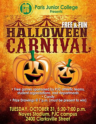 PJC Halloween Carnival
