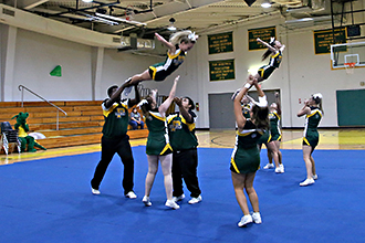 PJC cheer squad