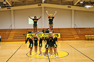 PJC 2019 Cheer Squad Tryout
