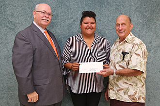 Deport Masonic Lodge presentation photo