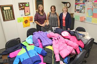 PJC donates coats photo