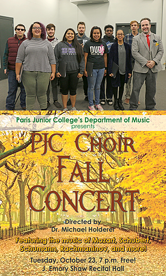 Fall 2018 Choir Concert