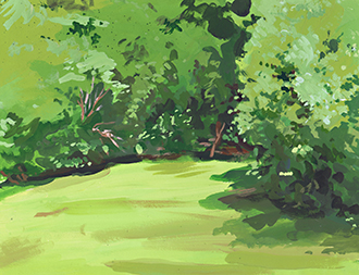 John Forse painting