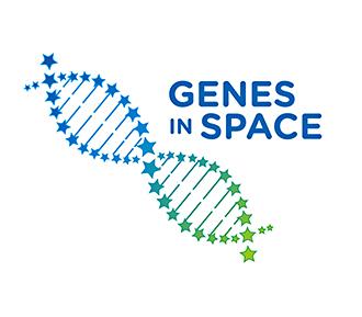 Genes in Space logo