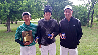 PJC golfers honored