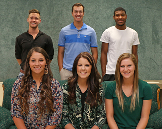 PJC homecoming court