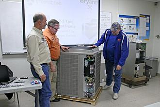 new PJC HVAC equipment