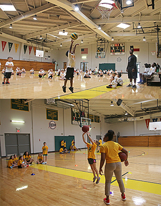 PJC basketball camps