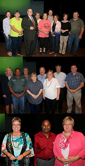 PJC employees honored for service