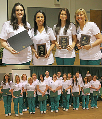 Vocational nursing awards photo
