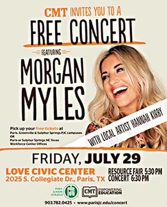 Morgan Myles concert