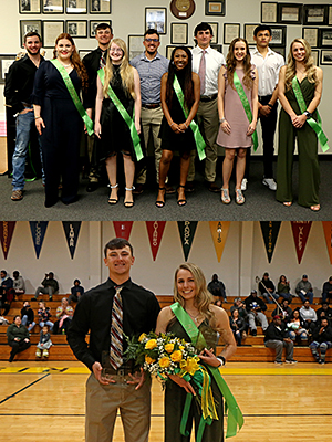 Mr. & Miss PJC 2020 nominees and winners photo