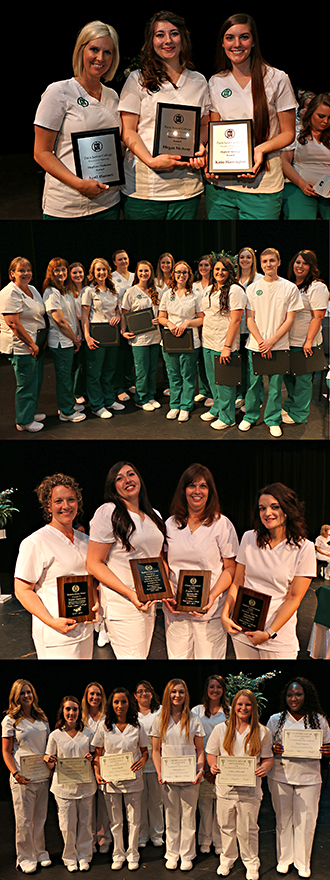 PJC nursing awards