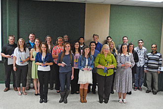 PTK fall 2013 induction group photo