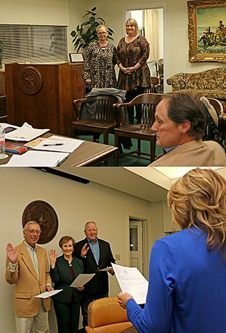 Regents sworn in photo