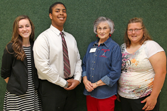 retired teacher scholarship recipients photo
