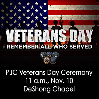 Veterans Day Ceremony graphic